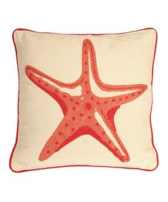 Loving this Careen Starfish Pillow on #zulily! #zulilyfinds