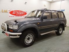 Japanese vehicles to the world: 19508T4N7 1991 Toyota Landcruiser VX Limited 4WD f...