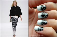 Kelsie's Nail Files: Inspired by Rebecca Minkoff!