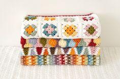 Bundle of Four Baby Blanket Patterns Bertie, Retro, Penny, Granny Square Baby Blanket Crochet Pattern PDF Instant Download Cot Pram by LittleDoolally on Etsy https://www.etsy.com/listing/181129906/bundle-of-four-baby-blanket-patterns