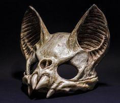 Vampire Skull Mask by SanseverinoFrancesco on Etsy