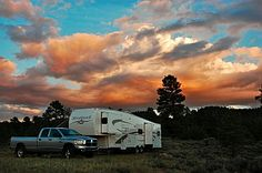 We began to RV full-time in 2007 & this page has tons of tips for how to live in an RV on the road rather than in a house.