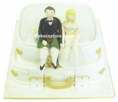Wedding Suitcases Wedding Cake
