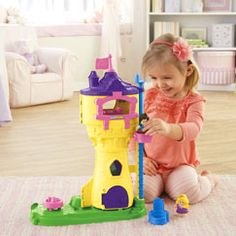 Shop for Little People® Disney Princess Rapunzel's Tower and buy something new for your little one to explore. Find the perfect Little People toddler toys right here at Fisher-Price.