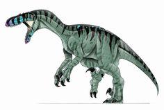 Tim Bradley - Paleo Art Utahraptor