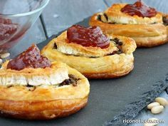 Cocina – Recetas y Consejos Quiches, Food Porn, Puff Pastry Recipes, Savoury Baking, Food Decoration, Food Humor, Appetisers, Brie, Clean Eating Snacks