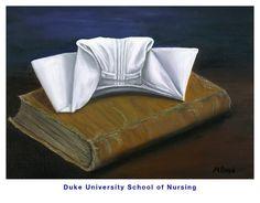 Duke University School Of Nursing Painting - Duke University School of Nursing by Marlyn Boyd History Of Nursing, Medical History, Nursing Profession, Nursing Schools, Professional Nurse, Nursing Pins, Male Nurse, Nurse Love, Vintage Nurse