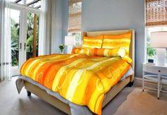 Grasshopper Obliečka Bavlna  Kolesá oranžové 140x200