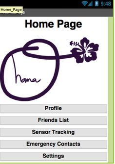 Ohana Home Page - one of the winning apps. The Global Fund for Women called on girl coders from around the world in February to design websites or apps that increase girls' access to safe spaces online and in their physical communities as part of their International Girls Hackathon.