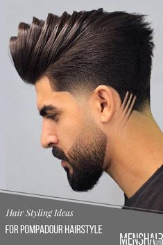 20 ideas brunette hair sunkissed highlights for 2020 Beard Styles For Men, Hair And Beard Styles, Long Hair Styles, Hairstyles Haircuts, Haircuts For Men, Gents Hair Style, Shaved Hair Designs, Beard Haircut, Short Dark Hair