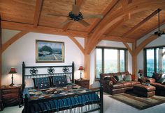 Timber Frame Construction for Residential Interiors