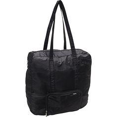 #Baggallini, #LightweightPackableExpandableBags, #TravelAccessories - baggallini Medium Zip-Out Travel Bagg Black - baggallini Lightweight packable expandable bags