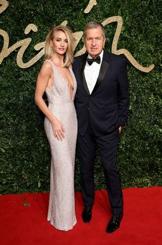 Rosie Huntington-Whiteley et Mario Testino