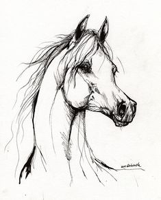 Horse Drawings to Color | Drawing| Drawing the first color layers of the horse's eye. Description from pinterest.com. I searched for this on bing.com/images