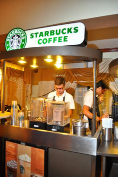 i want a little starbucks cart in the cocktail party for those who dont drink alcohol :)
