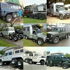 Sometimes #4x4 is not enough! #defender6x6 #landrover6x6