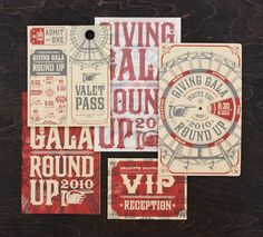Great invitation designs by Matchbox