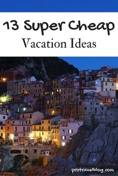 Need a cheap vacation? Check out this list of super cheap vacation ideas thats not only cheap, but super fun!