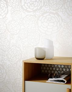 Oh Joy Petal Pusher Wallpaper / at Hygge and West