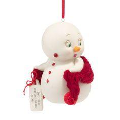 Department 56 Snowpinions Let Me Entertain You Ornament