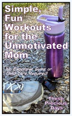 Simple, fun workouts for moms who hate to work out! An interval workout with a deck of cards and a Jenga workout you can do with the kids at home. Fun and effective!! (Part 1 of 3)
