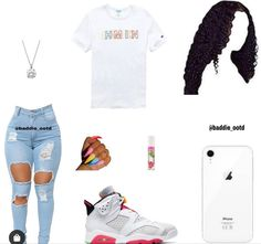 Baddie Outfits For School, Baddie Outfits Casual, Swag Outfits For Girls, Teenage Girl Outfits, Cute Swag Outfits, Cute Comfy Outfits, Girls Fashion Clothes, Dope Outfits, Teen Fashion Outfits