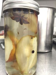 """""""Pear""""-sauce, Pickled Pears and Pear Crisp with Pecans recipes"""