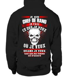 Chef de rang  - Edition Limitée  #birthday #october #shirt #gift #ideas #photo #image #gift #costume #crazy #nephew #niece