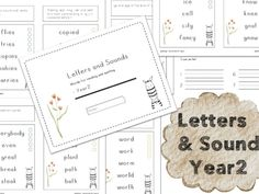 Spelling : Word List for Year2