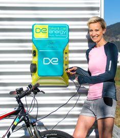 bike-energy Ladestation POINT P2B1C - zum laden von E-Bikes & E-Cars E Biker, Gym, Filling Station, Excercise, Gymnastics Room, Gym Room