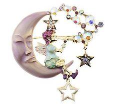 Kirks Folly Rosey Pipe Dream Fairy Pin