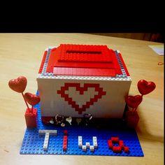Lego Valentine's box for school!