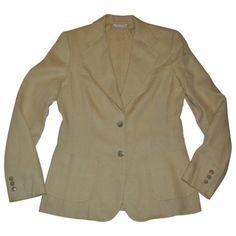 Max Mara  Beige Linen Jacket