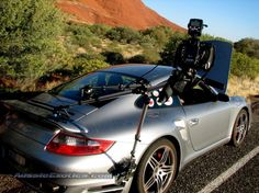 Porsche 997 Turbo Car Camera Rig