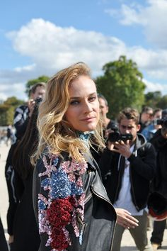 Diana Kruger, Paris Fashion Week | Trendycrew | Bloglovin'