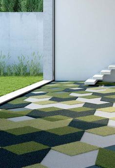 Go Green, Interior Design, Flooring, Green, Bar Napkin Productions, bnp-llc.com