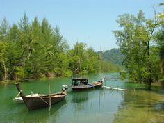 Koh Phra Thong, Thailand #exotic #thailand #river #asia #travel #vacation