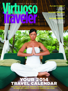 2014 Travel Calendar - Virtuoso Traveler, December 2013