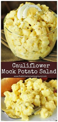 Cauliflower Mock Potato Salad