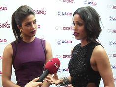 "Priyanka Chopra, Freida Pinto on ""Girl Rising"" Campaign http://www.ndtv.com/video/player/news/priyanka-chopra-freida-pinto-on-girl-rising-campaign/346819"