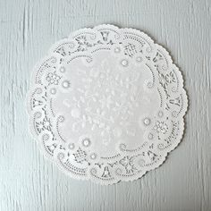 100 French Lace Paper Doilies 10 inches 15 by WrapAndRevel on Etsy, $21.25