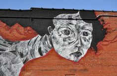 Faring Purth's Completed Cherokee Street Mural Is Haunting, Eerily #Beautiful.  #STL #ART