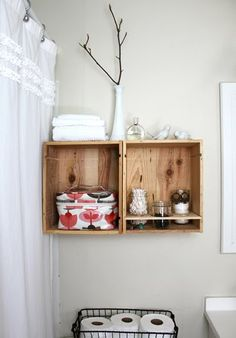 """How to """"Upcycle"""" Wood Crates"""