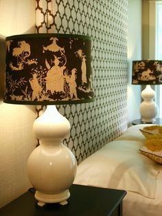 How to Make a Custom Fabric-Covered Lampshade
