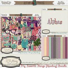 My Favorite Things {Reading} Bundle [sbm_mft_bundle] - $3.74 : Scraps N Pieces Store