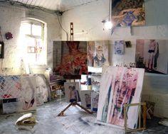 Liam O Connor's studio