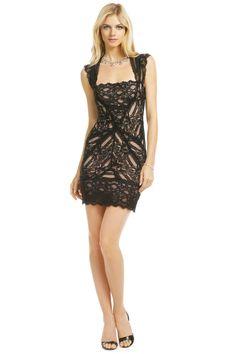NYE: Nicole Miller Pretty Woman Lace Dress