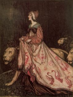 Absolutely love Arthur Rackham (mostly because he's quite terrifying).