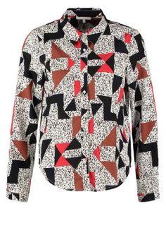 Geometrie trifft auf Klecks! Pieces PSKATINKA - Bluse - hellgrau für 24,95 € (13.11.14) versandkostenfrei bei Zalando bestellen.