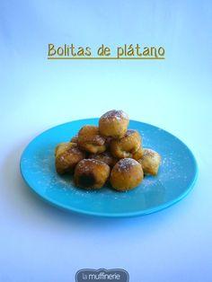 This week: Banana Balls  Esta semana: Bolitas de plátano  http://lamuffinerie.com/bolitas-de-platano/